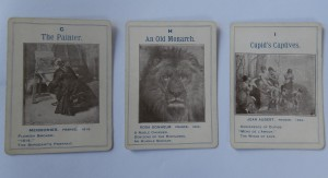old game cards of great artists parker brothers