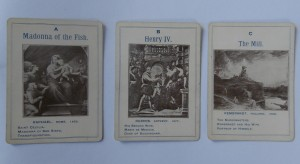Great Artists game cards