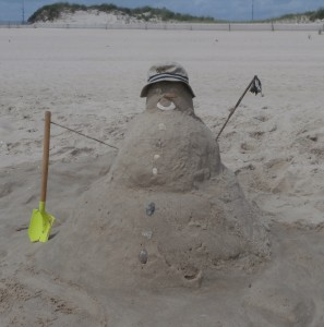 sandman for beach game