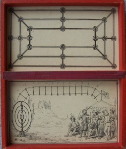 antique game board 1870