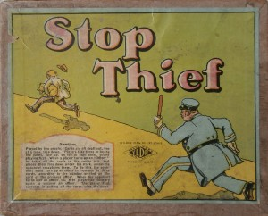old card game 1920's stop thief