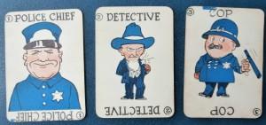 Wilder MFG game cards in 1920 Stop Thief