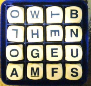 parker brothers vintage game of boggle
