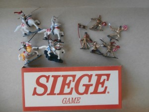 knights in shining armou game pieces from siege