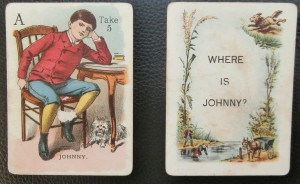 where's johnny old game cards