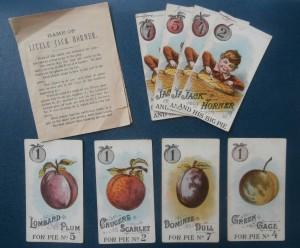 Little Jack Horner game cards