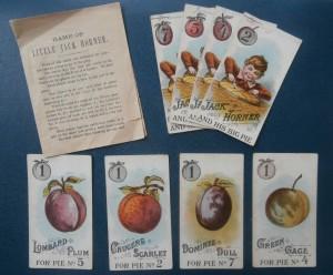 Little Jack Horner game cards