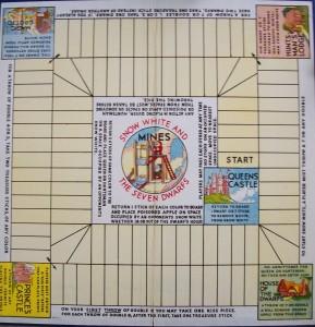 vintage board game board
