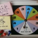 vintage board game 1960