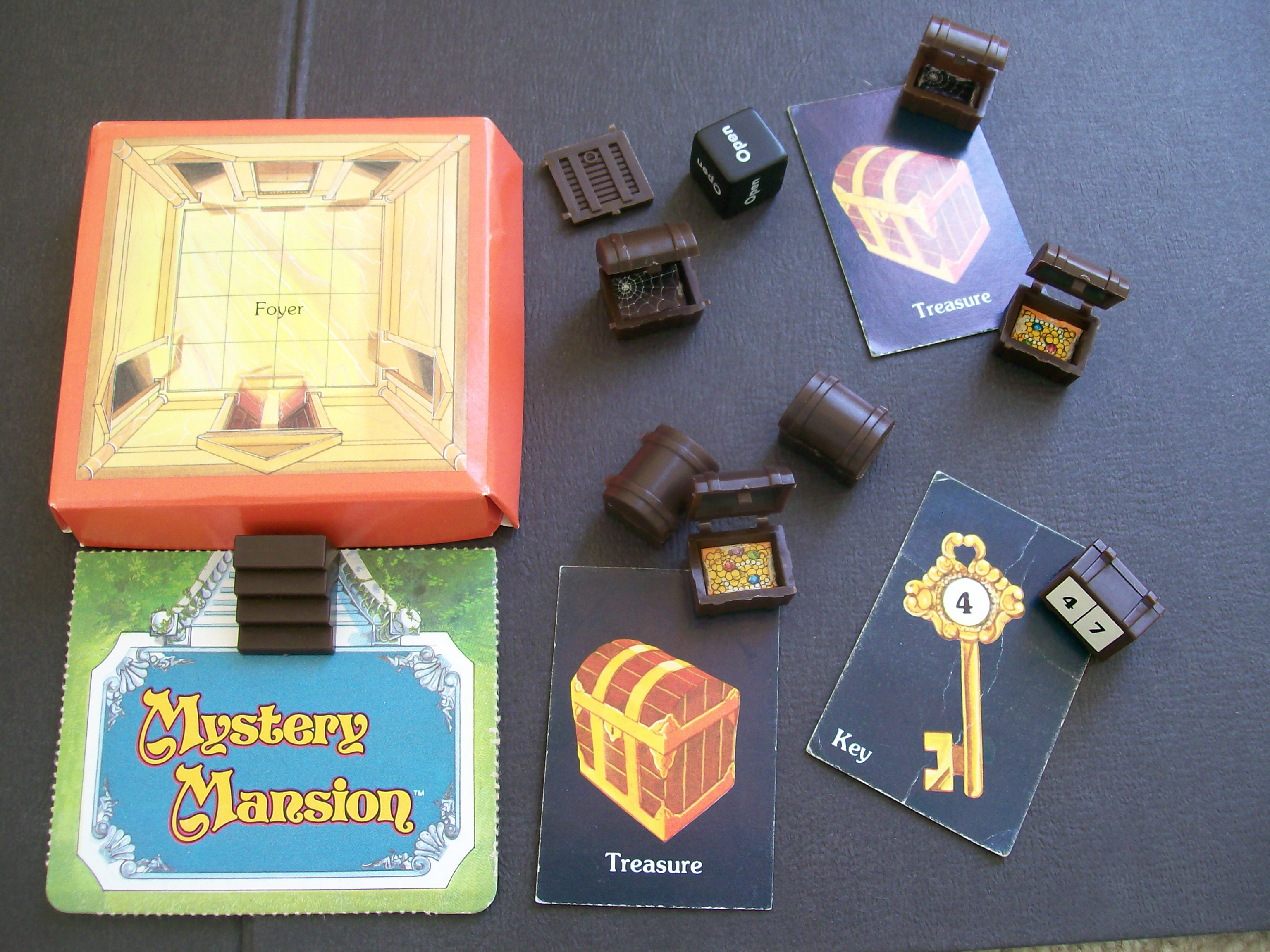 Vintage Board Game Of Mystery Mansion All About Fun And Games