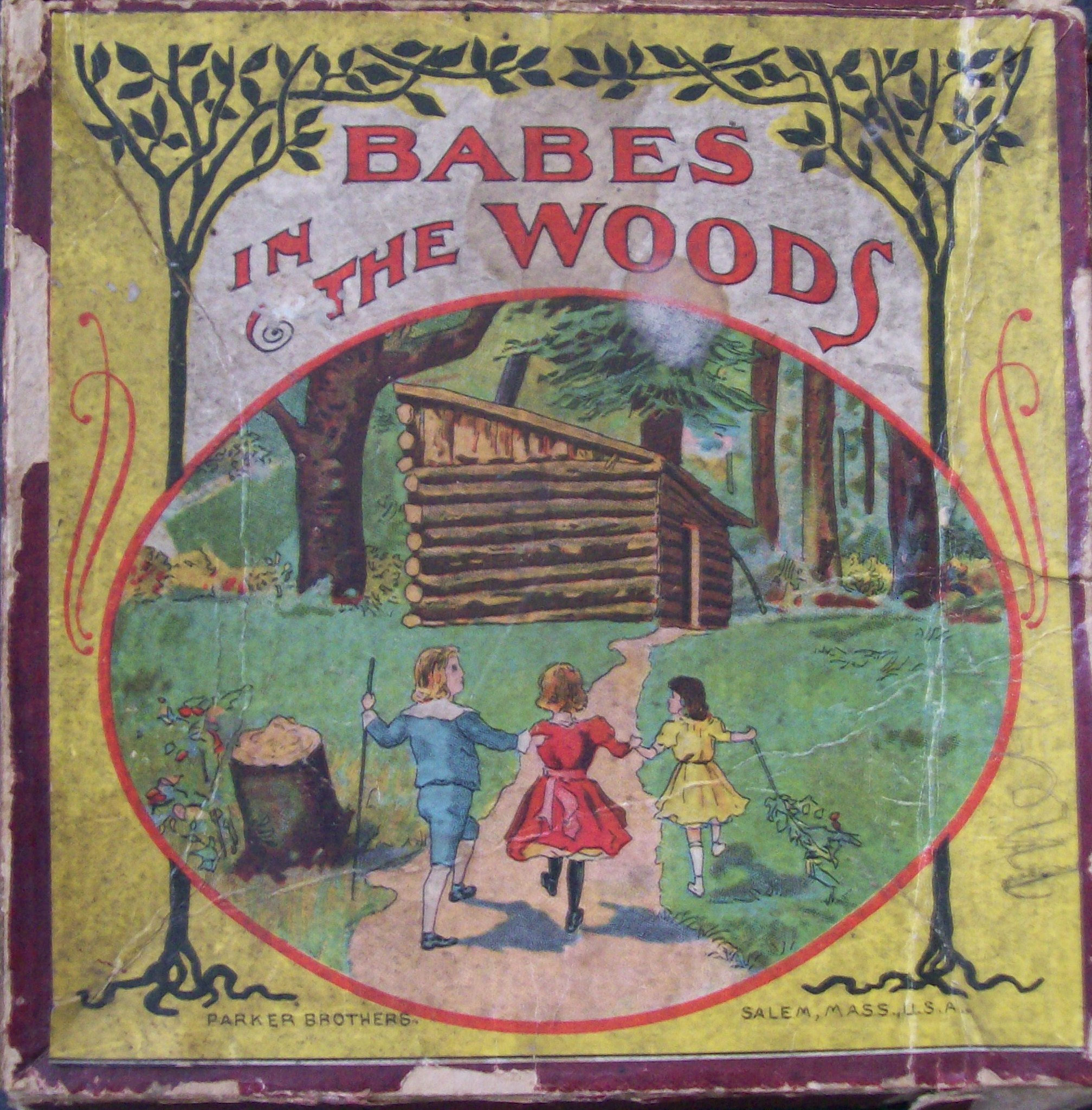 Free Babes Games babes in the woods: old parker brothers board game – all